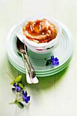 Apfelkompott mit Honig und Zimt