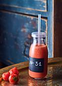 Strawberry Detox Juice
