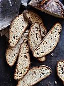 Khorasan or kamut bread