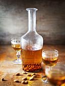 Apricot stone liqueur