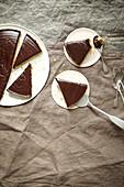 Cook-free chocolate tart