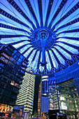 Sony Center at Potsdamer Patz, Berlin, Germany
