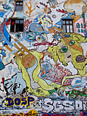 Graffiti, Art House Tacheles, Berlin