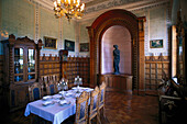 Dining-hall, Castle of Granitz, Ruegen, Germany, TEST
