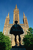 Marktkirche and Statue, Wiesbaden, Hesse, Germany