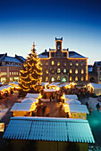 Christmas market in Weimar, Thuringia, Germany