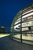 Cupola of German Reichstag, Berlin Germany