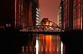 Bridge, Speicherstadt, Hamburg, Germany