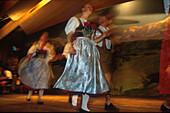 Bayrische Folklore, Werdenfelser Land Bayern, Deutschland