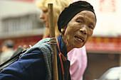 Alte chinesische Frau China