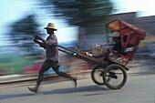 Pousse-Pousse, human cab, Madagascar