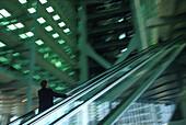 Rolltreppe Hong Kong & Shanghai Bank