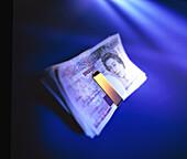 Money Clip mit Geldscheinen
