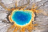 Grand Prismatic Spring, Yellowstone Nationalpark, Wyoming, USA