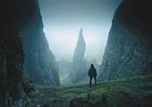 The Needle, Quiraing, Isle of Skye, Scotland, United Kingdom