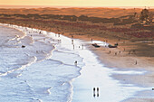 Dunes of Maspalomas and beach, Playa del Inglés, Tourist Resort, Gan Canaria, Canary Islands, Atlantic Ocean, Spain