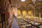 Reading hall of the National library (Bibliothèque nationale de France), BnF, Paris, France