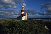 Südlichster Leuchtturm, Afrikas, Kap Agulhas, Südafrika, Afrika