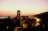 Santa Maria Maggiore, Assisi, Umbrien Italien