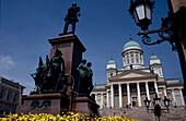 Senatsplatz und Domkirche, Helsinki Finnland