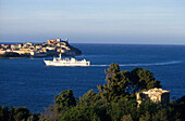 Fähre, Elba, Italien