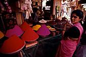 Markt, Ernakulum, Kerala Indien