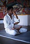 Young man, Yoga, Ayurveda, Health Sri Lanka