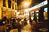 Nightlife, Sevilla, Costa del Sol, Andalusia, Spain
