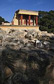 Minoan Palasce, Knossos Palace, Knossos, Crete, Greece