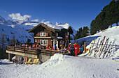 Tonis Huette, Skihuette, Zermatt, Wallis Schweiz