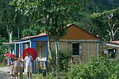 Schulkinder, Gato Dominikanische Republik