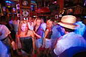 Young people in Stars 'n' Bars, Monte Carlo, Monaco, Cote D'Azur
