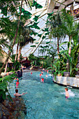 Indoor swimming pool, Center Parcs, De Femhof Netherlands