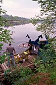 Float, River Klaraelven, South Sweden