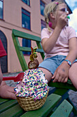 Children with Ice cream, Astrid Lindgren' s World Smaland, Sweden