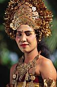 Legong dancer, Bali, Indonesia