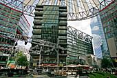 Berlin, Potsdamer Platz-Sony Center