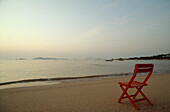 Strand am Hotel Romazzino, Costa Smeralda Sardinien, Italien