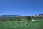 Caldera Bandama, Golfplatz, Gran Canaria, Kanarische Inseln Spanien