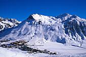 Skiing region of Tignes, Winter sports, Savoie, France