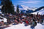 Sonnbuehel, Ski Region Kitzbuehel Tyrol, Austria