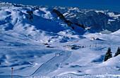 Skiing region Kitzbuhel, Tyrol, Austria