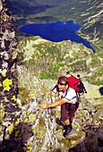 Climber, The Eagle Path, The Czar, High Tatras Poland