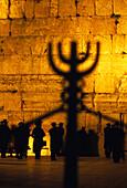 Betende an der Klagemauer, Jerusalem Israel