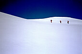 Skitour, St. Antoenien, Graubuenden Switzerland