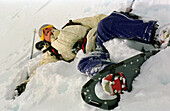 Snowshoeing, Kaprun Austria