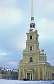 Peter and Paul Cathedral inside Peter and Paul Fortress, St. Petersburg, Russia (Russian Federation)