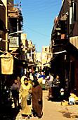 Mellah, old jewish quarter in Marrakesh, Morocco