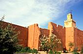 Old city walls, Marrakesh Morocco