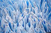 Grey glacier, Close-up, Torres del Paine National Park, Patagonia, Chile